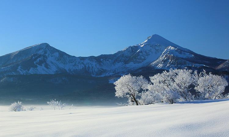 裏磐梯冬写真