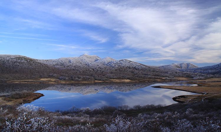 裏磐梯冬の写真