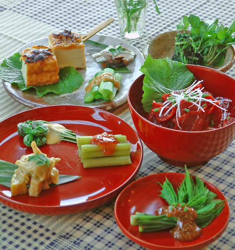 季節の前菜一例